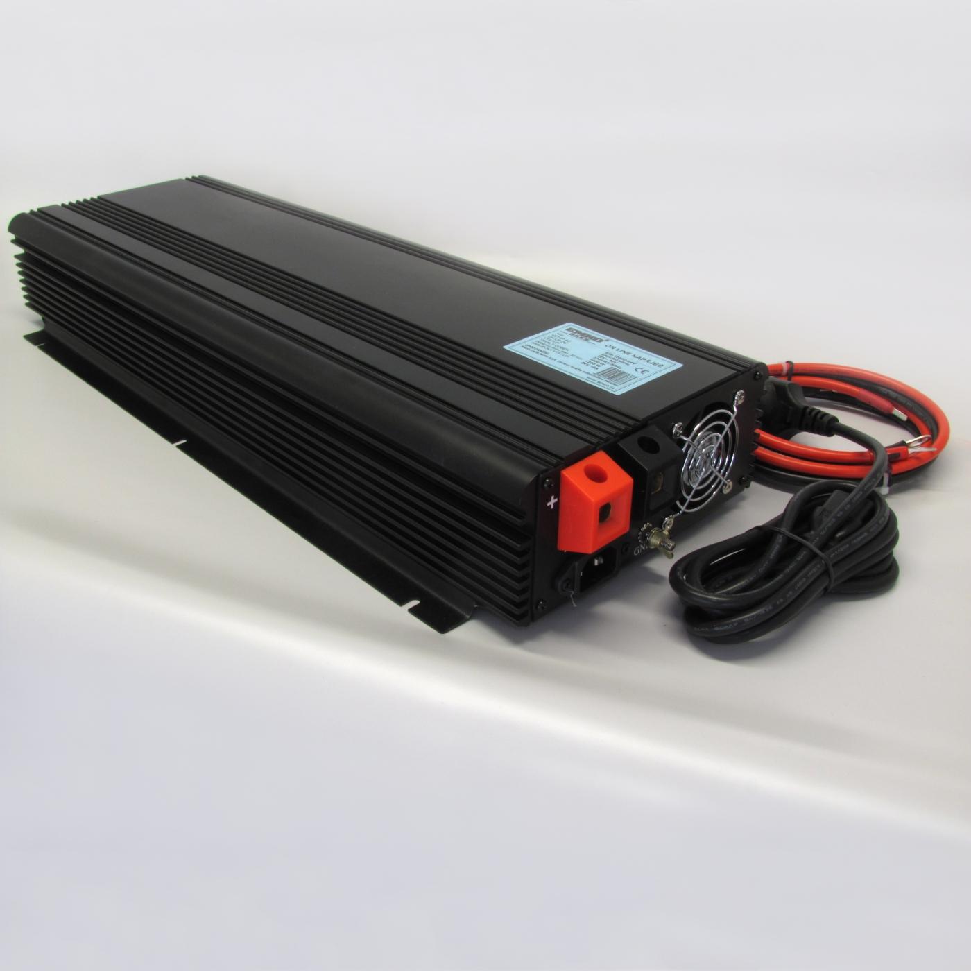 měnič EM-1600C/24V s nabíječkou