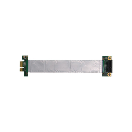 Riser Card PCI Express x 1 with flat cable 150 mm